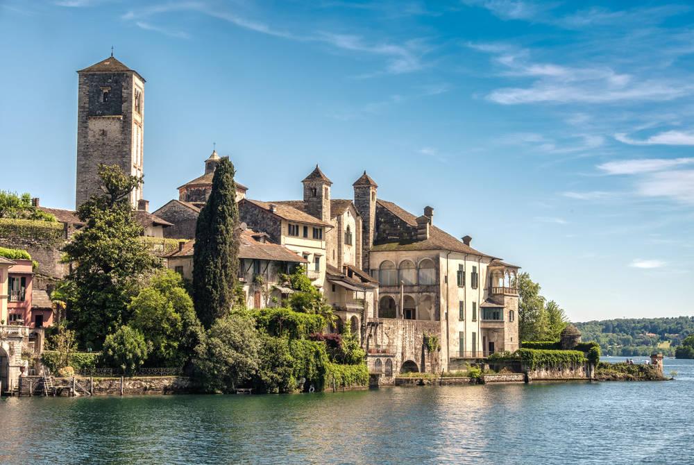Italian Lakes - Lake Orta Italy