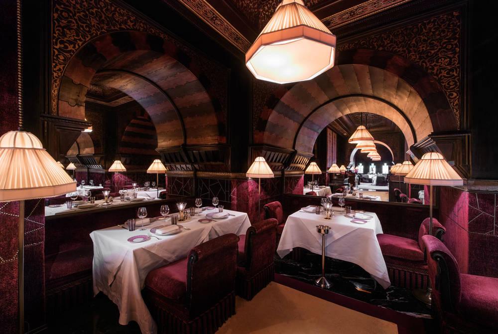 Italian Restaurant, La Mamounia, Marrakech, Morocco