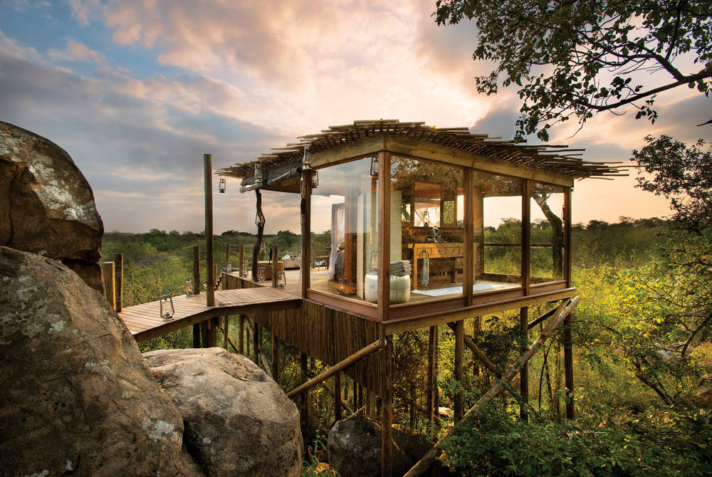 Treehouse at Ivory Lodge, Lion Sands