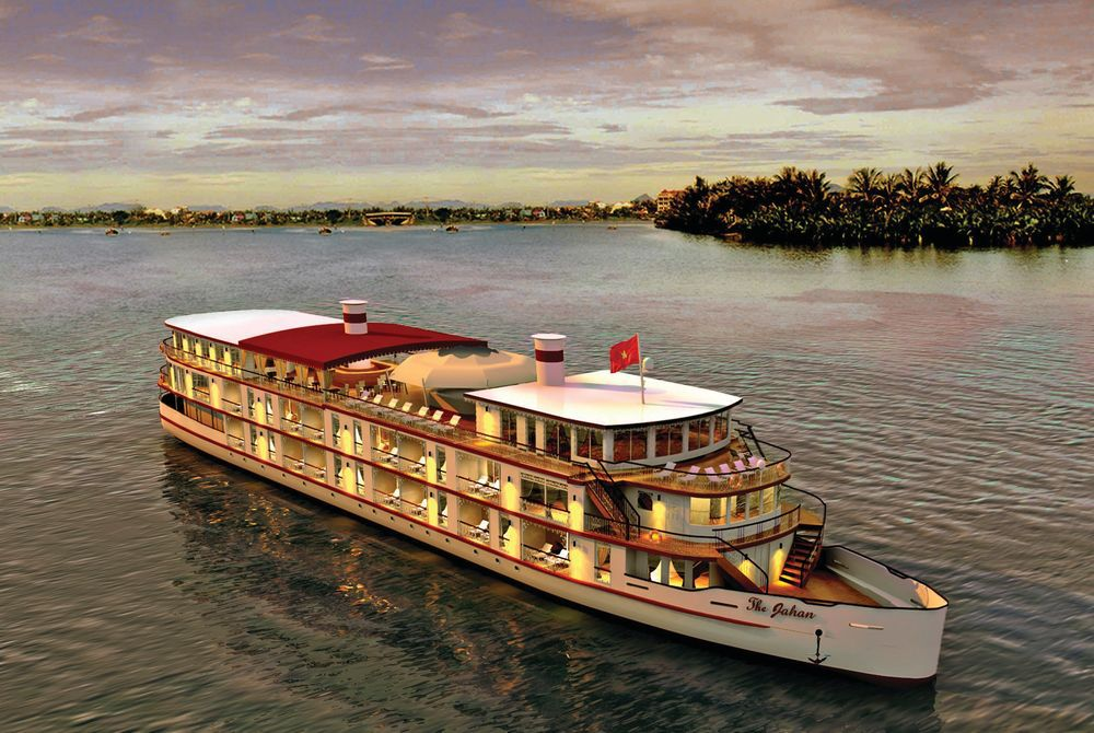 The Jahan Mekong Cruise