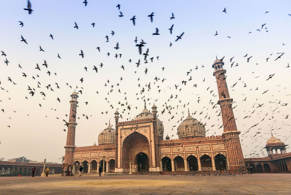 Jama Masjid, Old Delhi, India