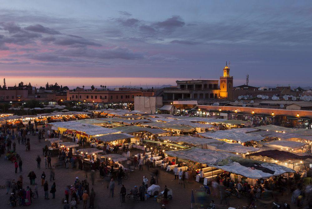 Jamaa e-Fnaa, Marrakech, Morrocco