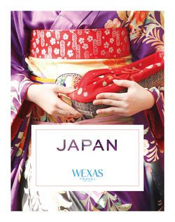 Cover for brochure Japan