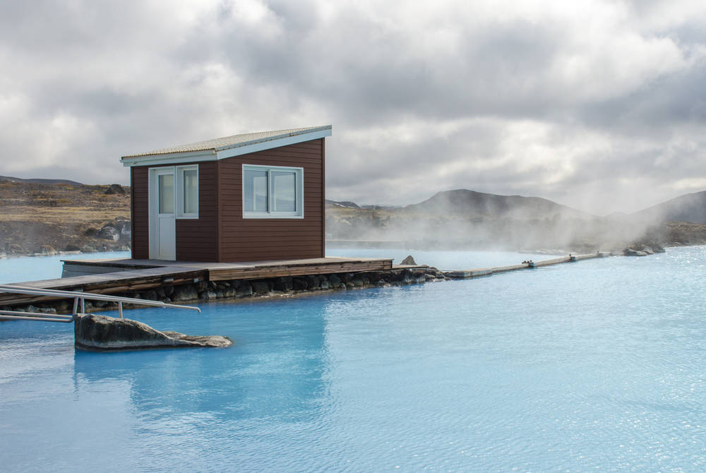 Geothermal pools, Lake Myvatn