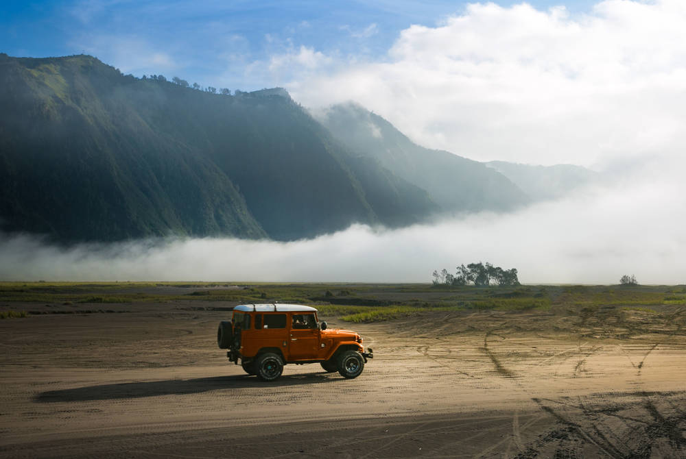 Jeep tour to Mount Bromo