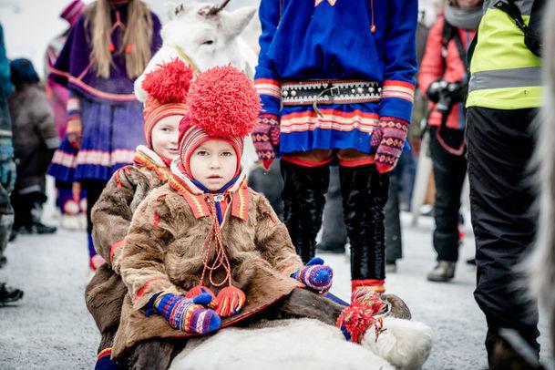 Jokkmokk winter market, Swedish Lapland