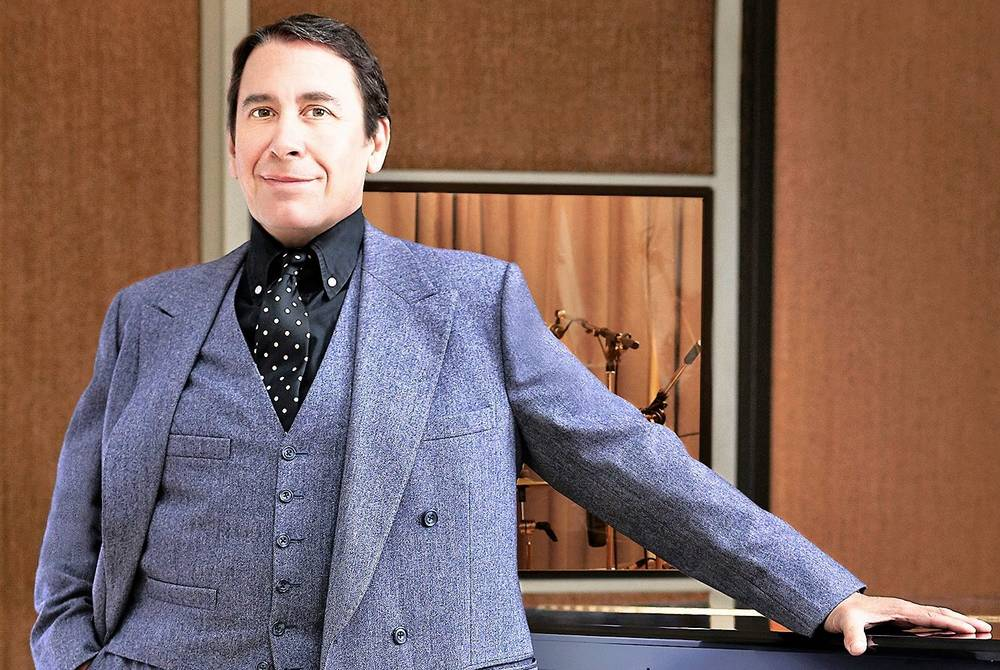 Jools Holland aboard the Spirit of Discovery