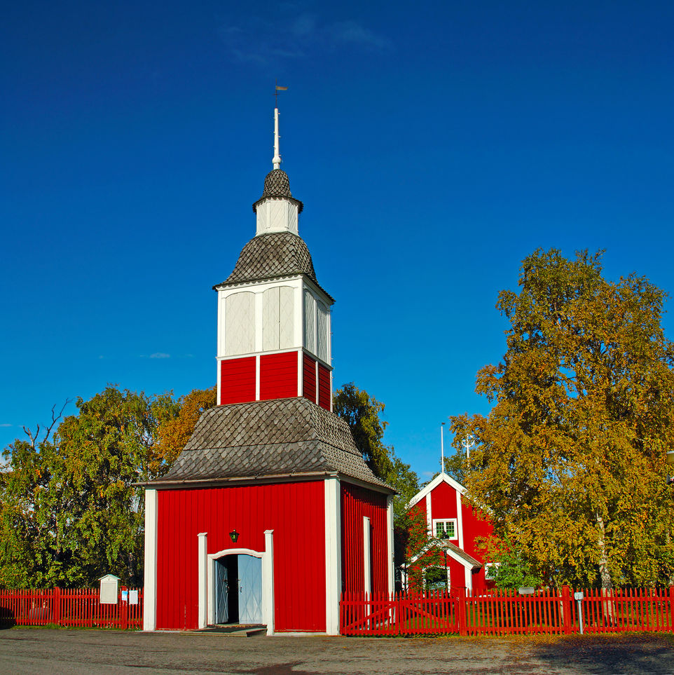 Jukkasjarvi Church