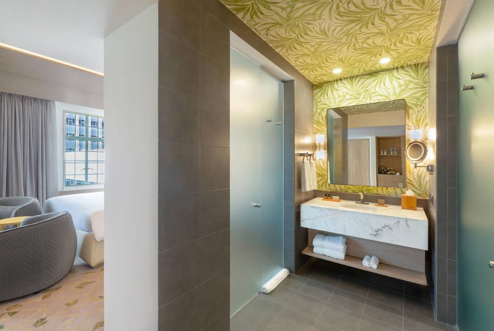 Junior Suite Bathroom, Gran Hotel, San Jose, Costa Rica