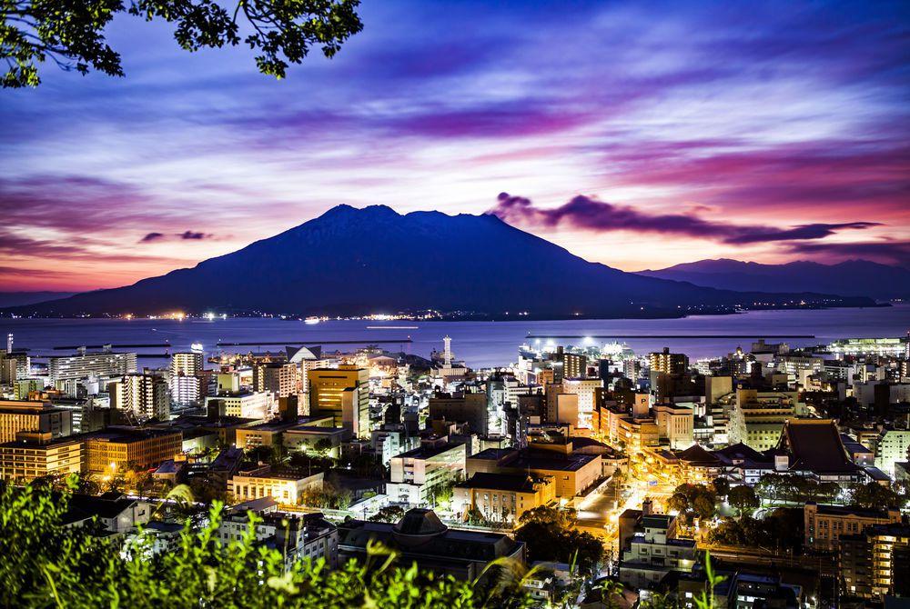 Kagoshima, Japan.