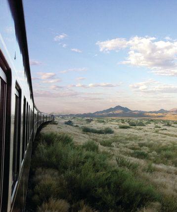Kalahari Desert, Rovos Rail, South Africa