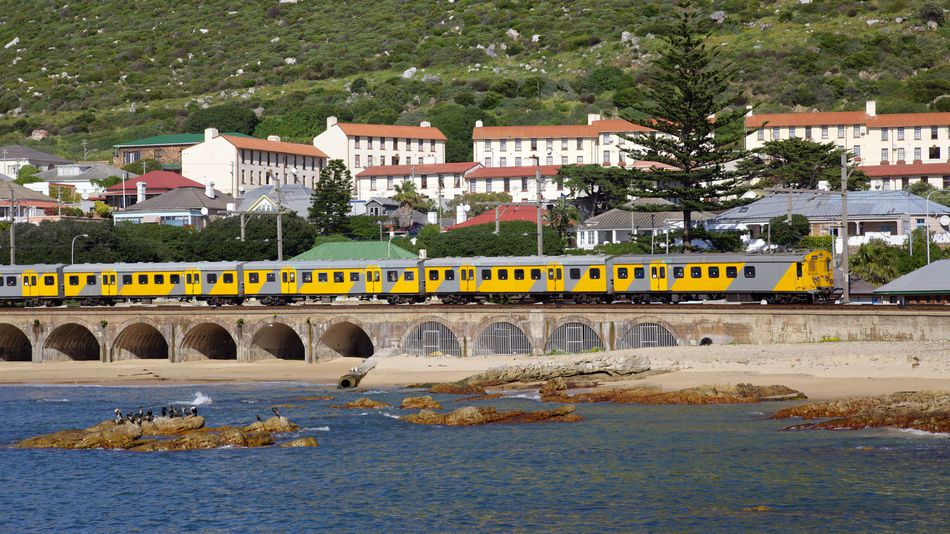 The train to Kalk Bay, Cape Town