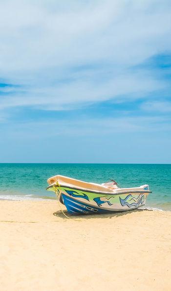 Pristine beach in Sri Lanka
