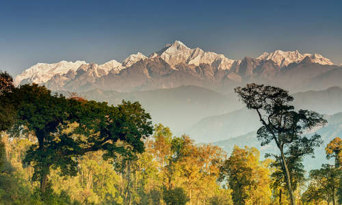 Kanchenjunga, India