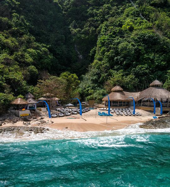 Private beach, Karma Kandara