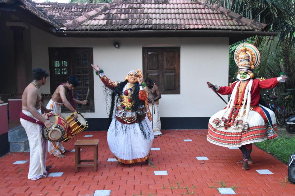 Kathakali Dance, Kerala, India