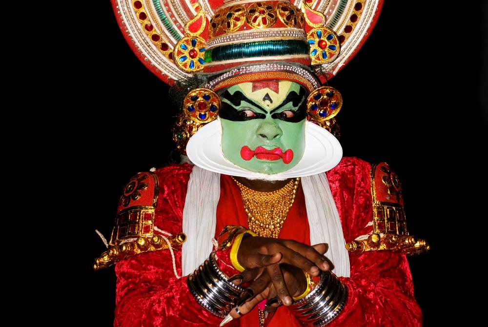 Kathakali traditional dance, Kerala