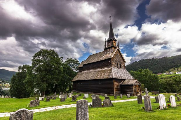 Kaupanger, stave church