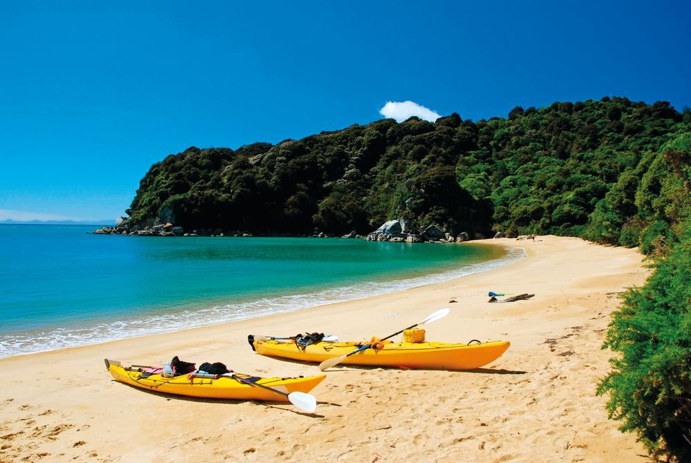 Kayak Adventure, Abel Tasman National Park, South Island, New Zealand