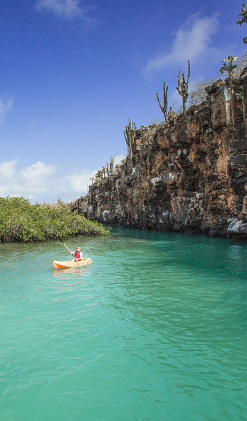 Kayak, Finch-Bay Eco Hotel, Puerto Ayora, Galapagos