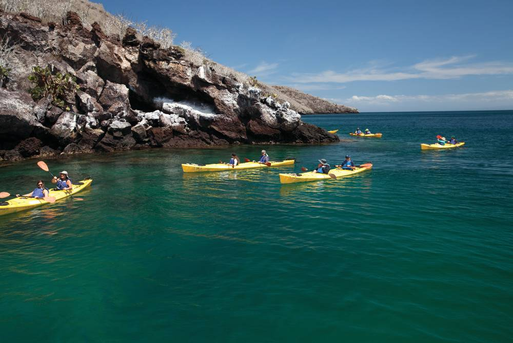 Kayak excursion, Silversea