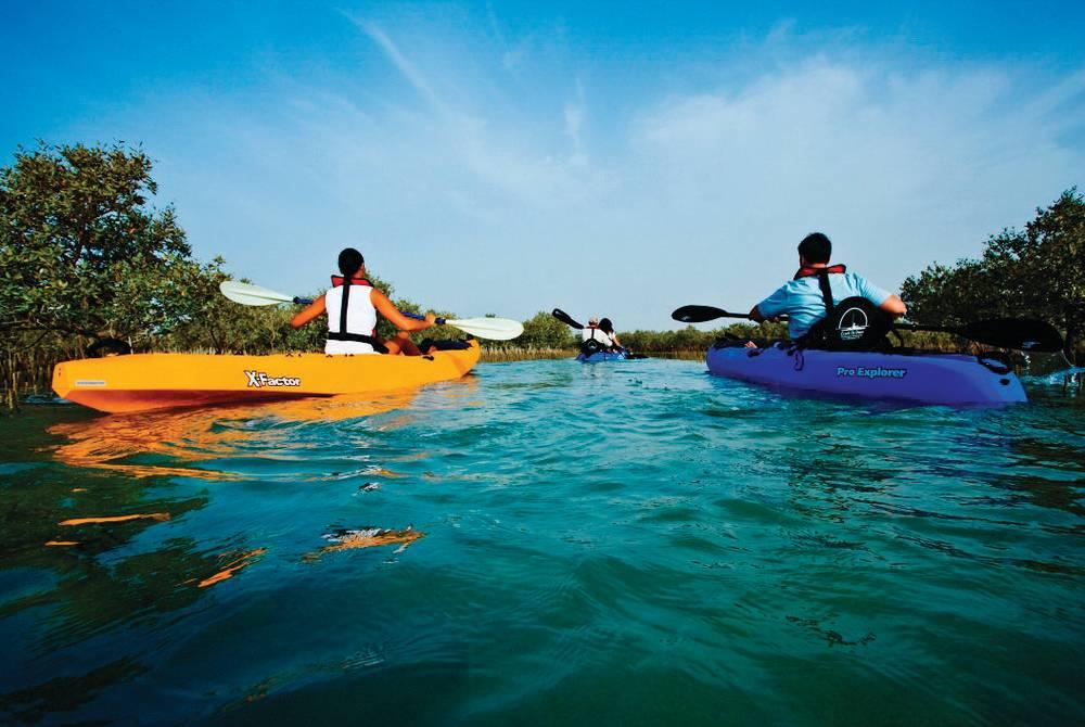 Kayaking, Anantara Desert Islands Resort & Spa
