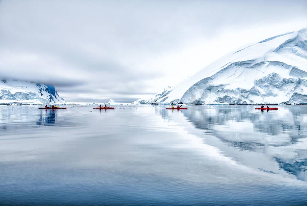 Kayaking, Ponant