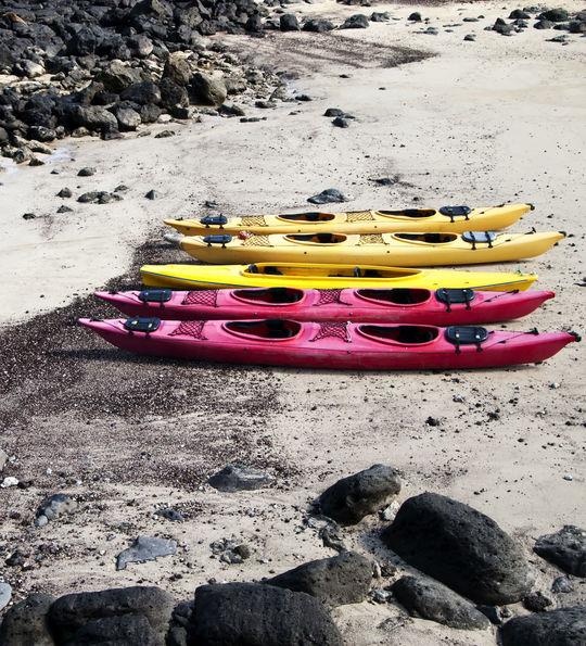 Kayaking, Galapagos