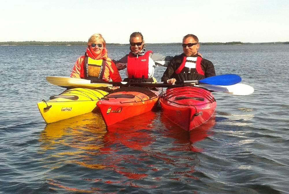 Kayaking, Hanko