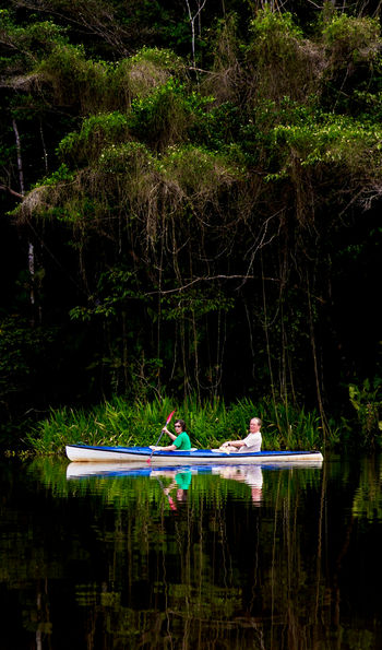 Kayaking at La Selva Lodge, Ecuadorian Amazon