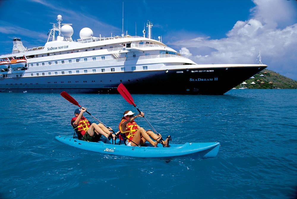 Kayaks, Sea Dream II, SeaDream Yacht Club