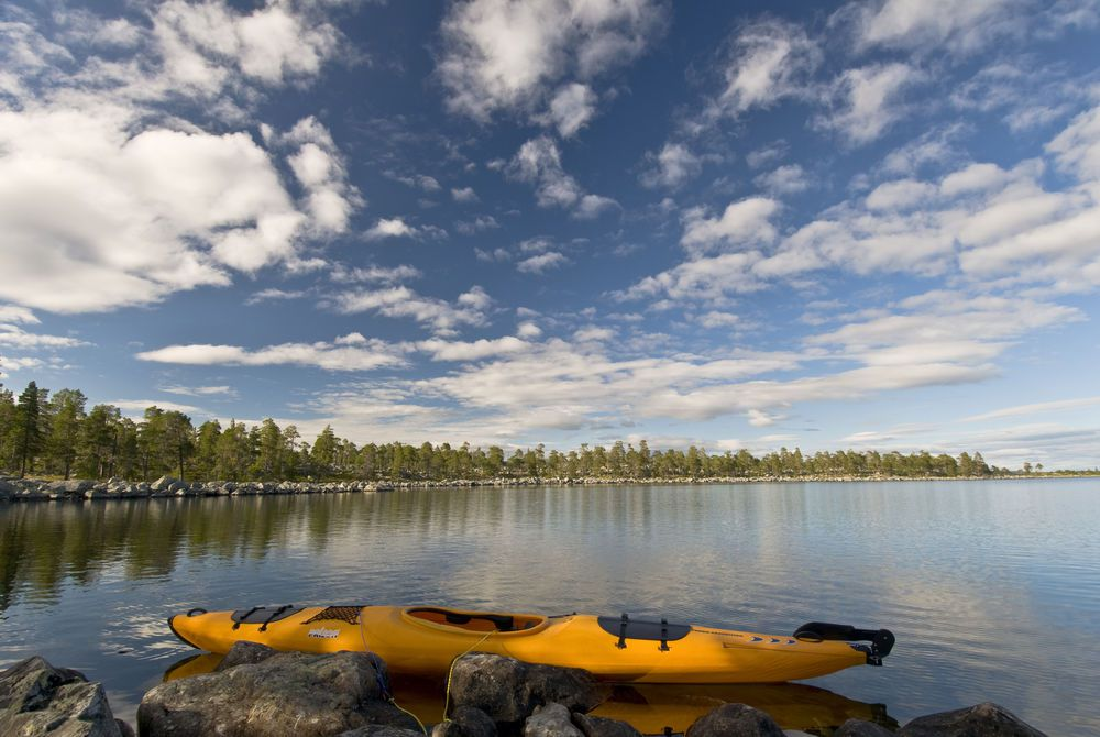 Kayaks, Swedish Lapland