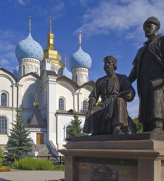 Kazan Cathedral, Golden Eagle Trans-Siberian Express