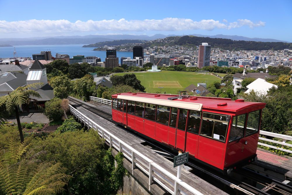 Kelburn Cable Car, Wellington, New Zealand