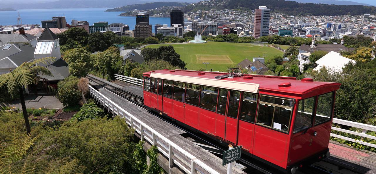 Kelburn Cable Car, Wellington, New Zealand