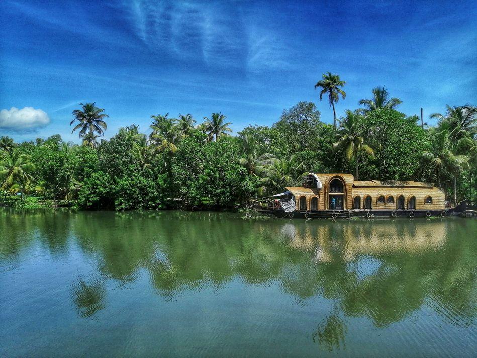 Kerala Backwaters river cruise, India