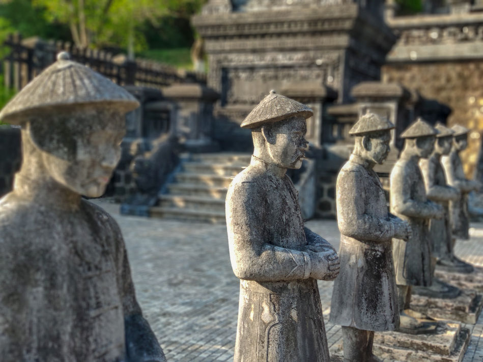 Warrior Guardians in the Complex of Hue Monuments, Vietnam