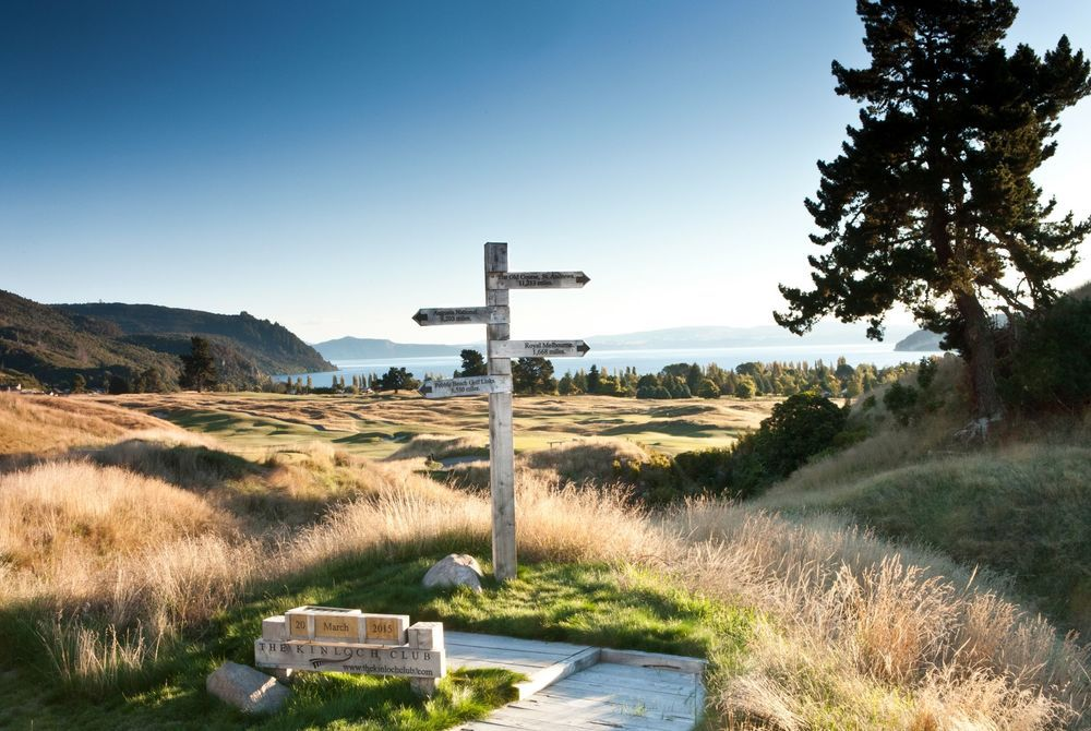 Kinloch Club golf course, New Zealand