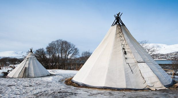 Kirkenes Sami tent in Northern Norway