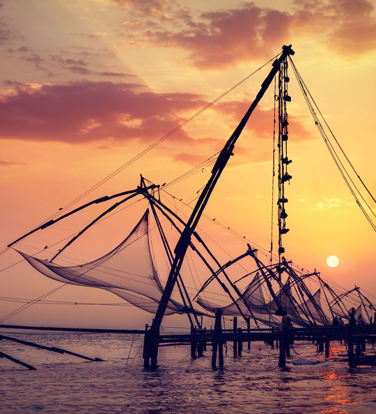 Chinese fishing nets, Kochi