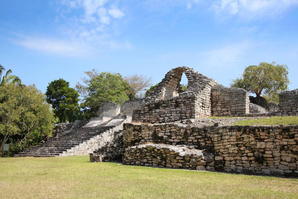 Kohunlich ruins, Costa Maya, Mexico