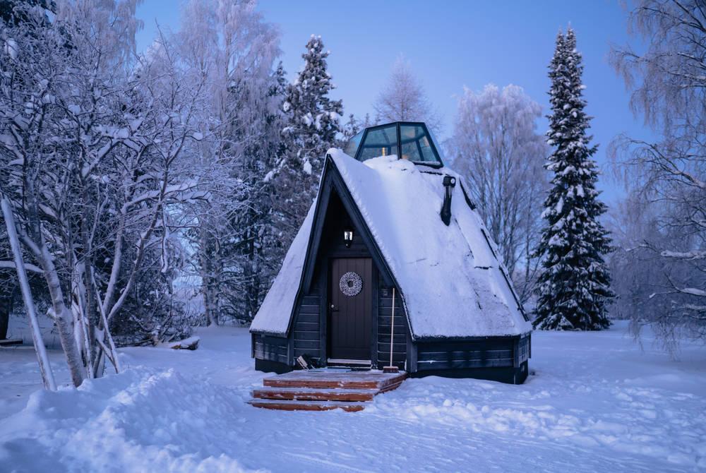 Komsio Cabin, Apukka Resort, Finland
