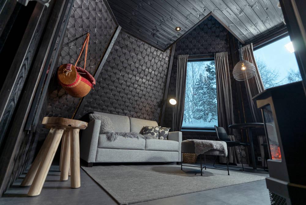 Komsio lounge, Apukka Resort, Finland