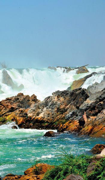 Kone Phapheng Falls, The Mekong River, Laos