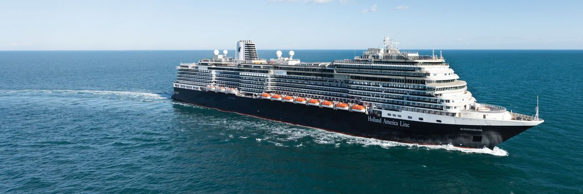 Holland America Line's new ms Koningsdam named by Royalty
