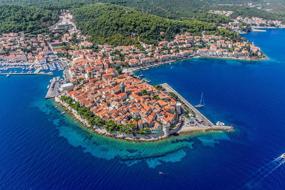 Korcula Old Town, Croatia