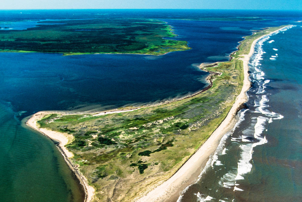 Aerial view of Kouchibouguac National Park