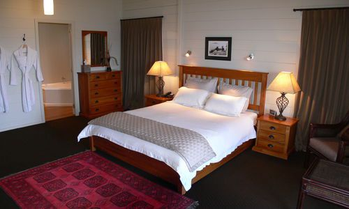 Koura Lodge bedroom, New Zealand