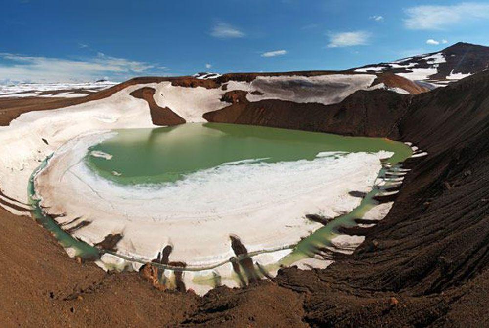Krafla Volcano, Lake Myvatn, Iceland
