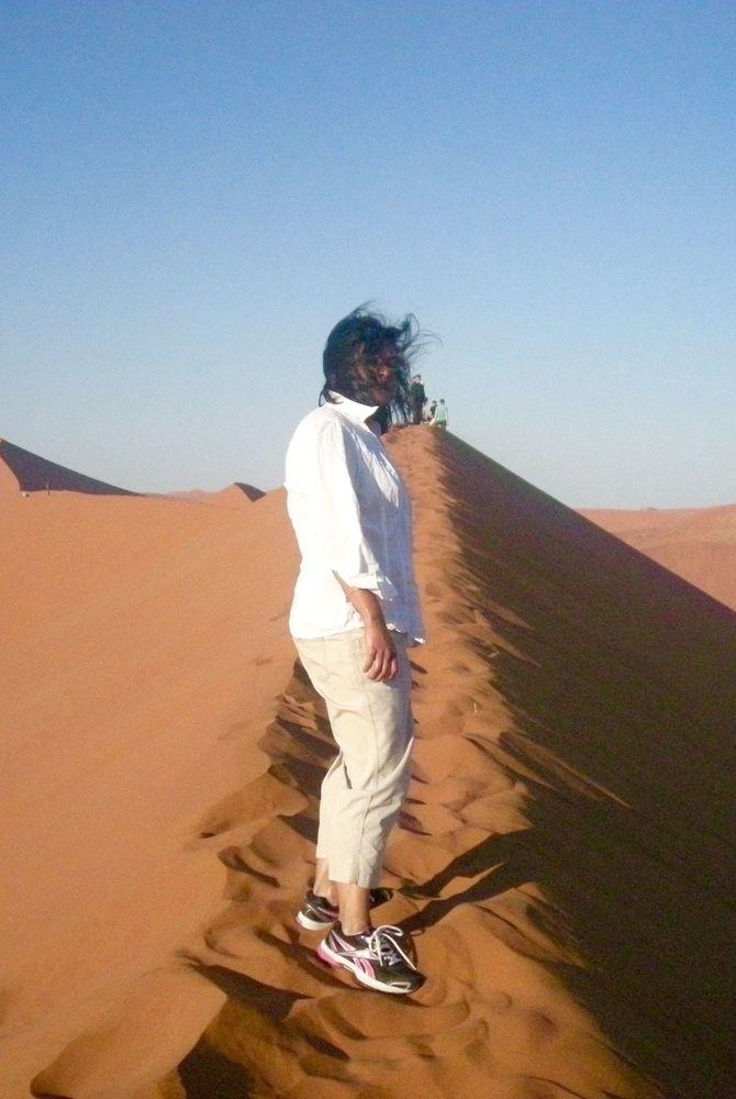 Sossusvlei desert in Namibia Krishna Ghosh